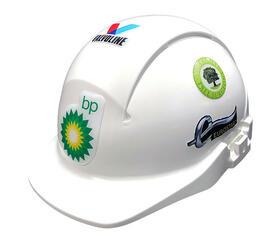 3D Helm-Aufkleber